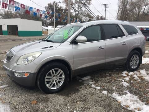 2008 Buick Enclave for sale at Antique Motors in Plymouth IN