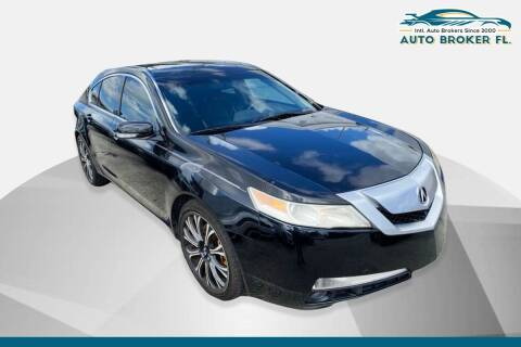 2010 Acura TL for sale at INTERNATIONAL AUTO BROKERS INC in Hollywood FL