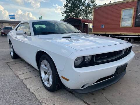 2012 Dodge Challenger for sale at JAVY AUTO SALES in Houston TX