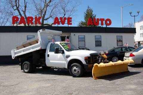 2009 Ford F-350 Super Duty for sale at Park Ave Auto Inc. in Worcester MA