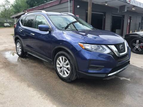 2018 Nissan Rogue for sale at Texas Luxury Auto in Houston TX