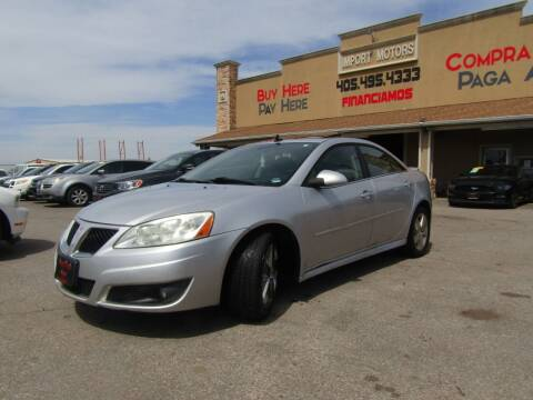 2010 Pontiac G6 for sale at Import Motors in Bethany OK