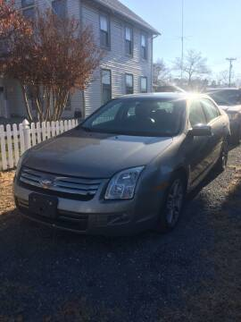 2009 Ford Fusion for sale at Village Auto Center INC in Harrisonburg VA