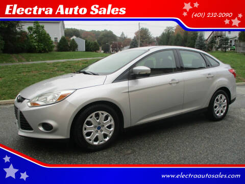 2013 Ford Focus for sale at Electra Auto Sales in Johnston RI