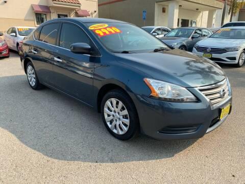 2015 Nissan Sentra for sale at HEILAND AUTO SALES in Oceano CA