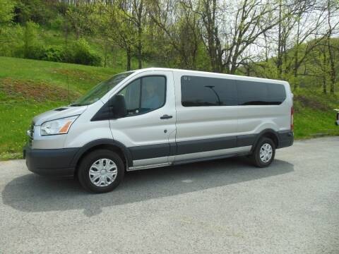 2016 Ford Transit Passenger for sale at WESTON FORD  INC in Weston WV