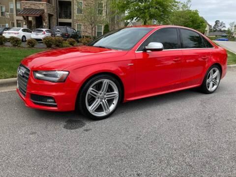 2013 Audi S4 for sale at LA 12 Motors in Durham NC