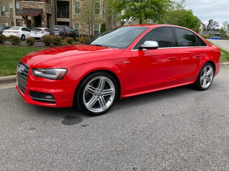 2013 Audi S4 for sale at LA 12 Motors in Durham NC