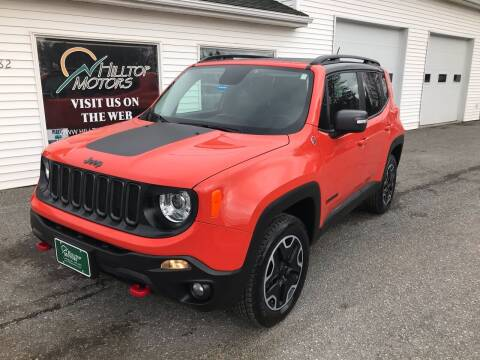 2017 Jeep Renegade for sale at HILLTOP MOTORS INC in Caribou ME