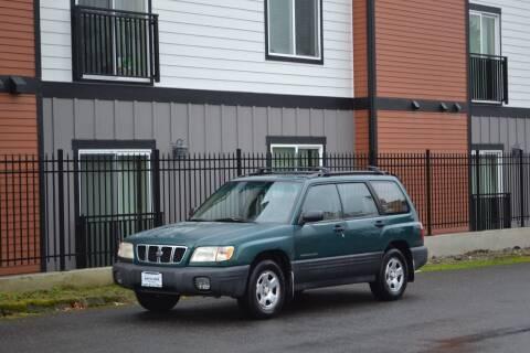 2001 Subaru Forester for sale at Skyline Motors Auto Sales in Tacoma WA