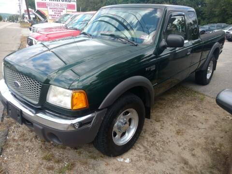 2001 Ford Ranger for sale at Auto Brokers of Milford in Milford NH