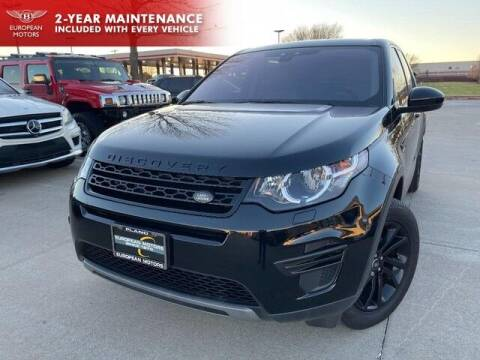 2018 Land Rover Discovery Sport for sale at European Motors Inc in Plano TX