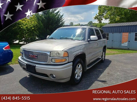 2004 GMC Yukon for sale at Regional Auto Sales in Madison Heights VA