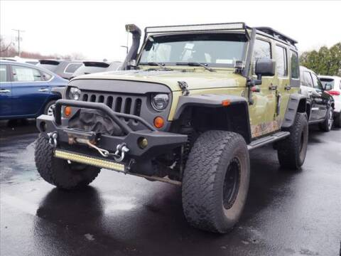 2013 Jeep Wrangler Unlimited for sale at Buhler and Bitter Chrysler Jeep in Hazlet NJ