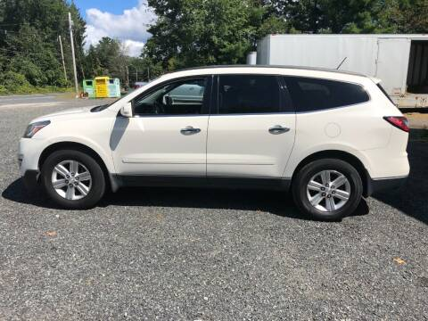 2014 Chevrolet Traverse for sale at Perrys Auto Sales & SVC in Northbridge MA