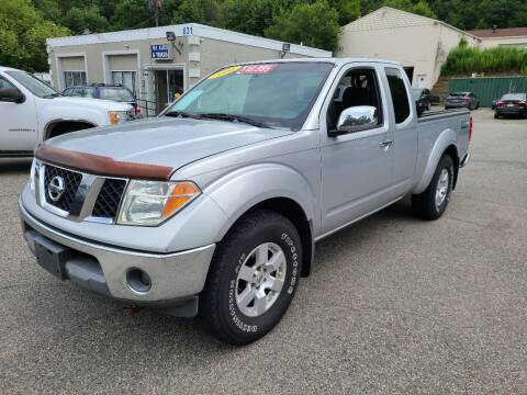 2006 Nissan Frontier for sale at New Jersey Automobiles and Trucks in Lake Hopatcong NJ