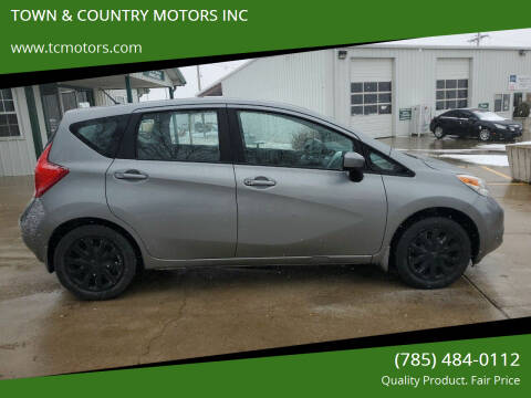 2015 Nissan Versa Note for sale at TOWN & COUNTRY MOTORS INC in Meriden KS
