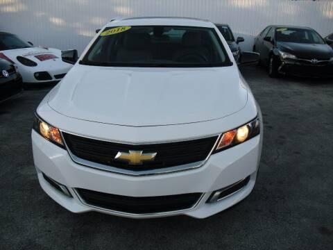 2018 Chevrolet Impala for sale at SUPERAUTO AUTO SALES INC in Hialeah FL