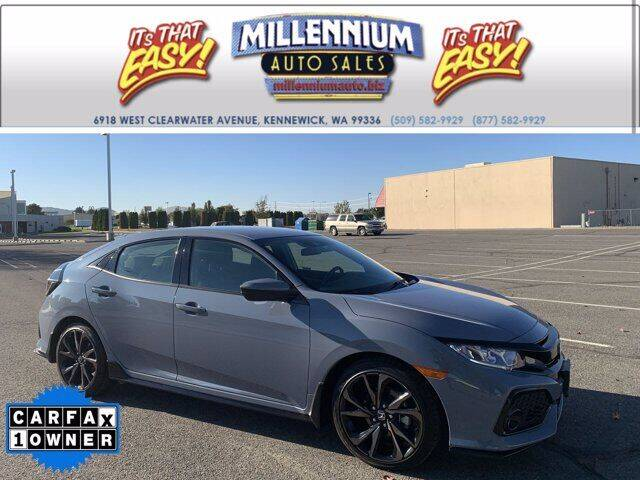 2019 Honda Civic for sale at Millennium Auto Sales in Kennewick WA