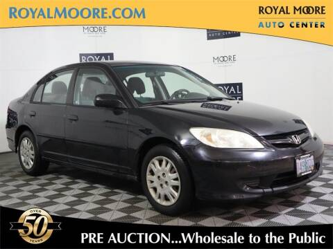 2004 Honda Civic for sale at Royal Moore Custom Finance in Hillsboro OR