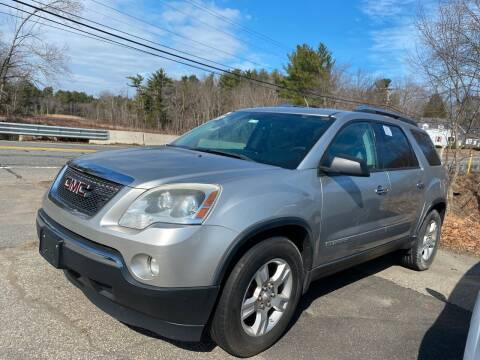 2008 GMC Acadia for sale at Royal Crest Motors in Haverhill MA