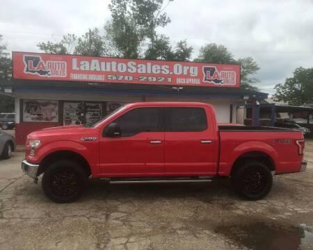 2015 Ford F-150 for sale at LA Auto Sales in Monroe LA
