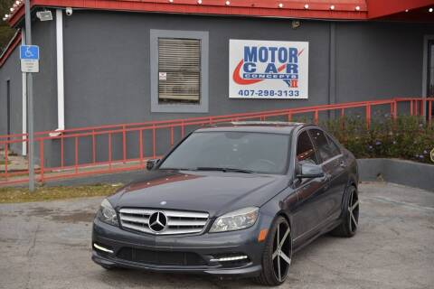 2011 Mercedes-Benz C-Class for sale at Motor Car Concepts II - Kirkman Location in Orlando FL