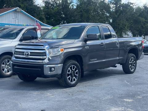 2016 Toyota Tundra for sale at Bargain Auto Sales in West Palm Beach FL