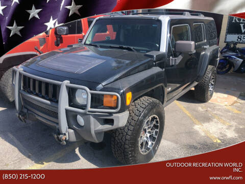2007 HUMMER H3 for sale at Outdoor Recreation World Inc. in Panama City FL