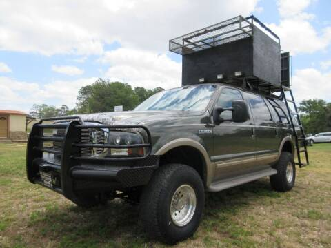 2002 Ford Excursion for sale at Quality Investments in Tyler TX
