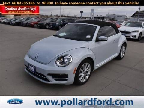 2018 Volkswagen Beetle Convertible for sale at South Plains Autoplex by RANDY BUCHANAN in Lubbock TX