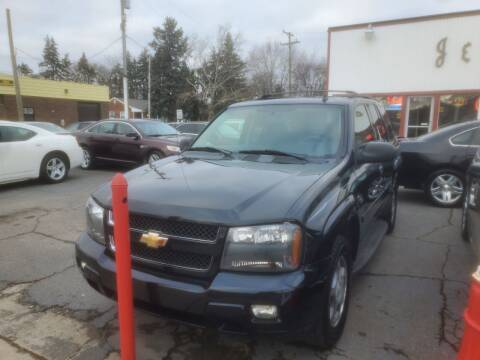 2008 Chevrolet TrailBlazer for sale at J & J Used Cars inc in Wayne MI