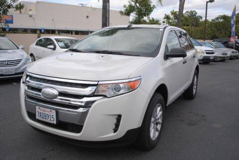 2013 Ford Edge for sale at MIKE AHWAZI in Santa Ana CA