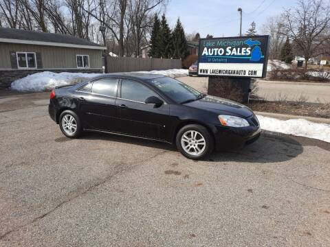 2006 Pontiac G6 for sale at Lake Michigan Auto Sales & Detailing in Allendale MI