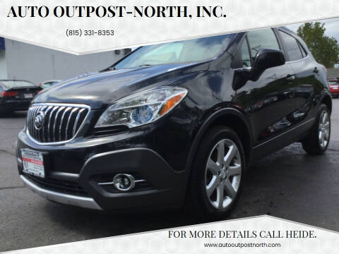 2013 Buick Encore for sale at Auto Outpost-North, Inc. in McHenry IL