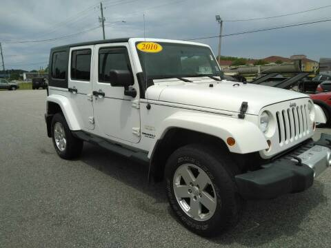2010 Jeep Wrangler Unlimited for sale at Kelly & Kelly Supermarket of Cars in Fayetteville NC
