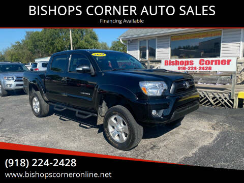 2012 Toyota Tacoma for sale at BISHOPS CORNER AUTO SALES in Sapulpa OK