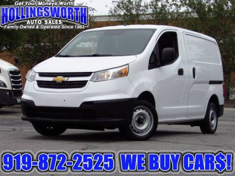 2017 Chevrolet City Express Cargo for sale at Hollingsworth Auto Sales in Raleigh NC