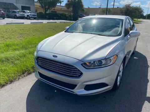 2015 Ford Fusion for sale at Roadmaster Auto Sales in Pompano Beach FL