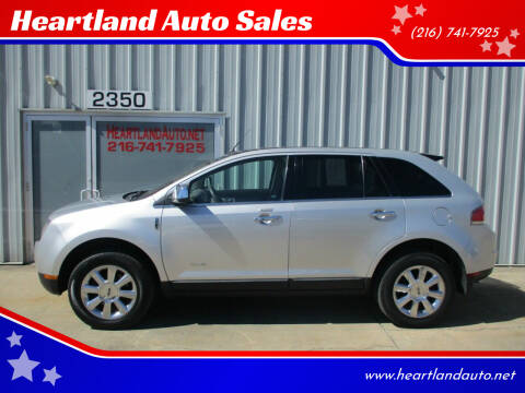 2009 Lincoln MKX for sale at Heartland Auto Sales in Medina OH