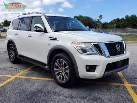 2019 Nissan Armada for sale at GATOR'S IMPORT SUPERSTORE in Melbourne FL