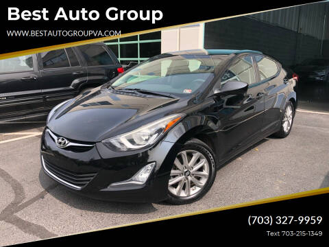 2014 Hyundai Elantra for sale at Best Auto Group in Chantilly VA