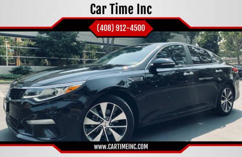 2019 Kia Optima for sale at Car Time Inc in San Jose CA