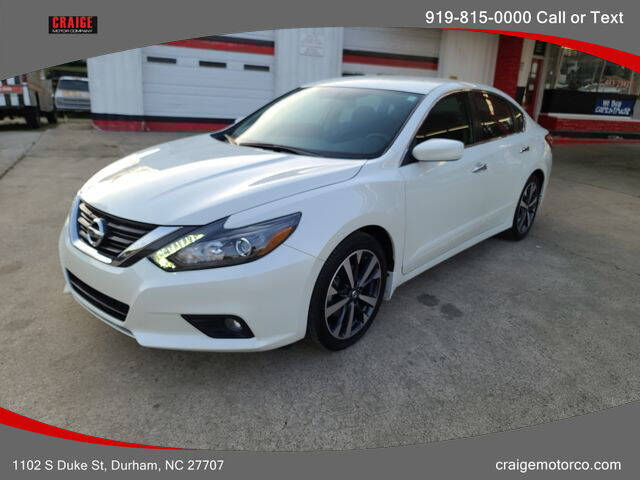 2016 Nissan Altima for sale at CRAIGE MOTOR CO in Durham NC