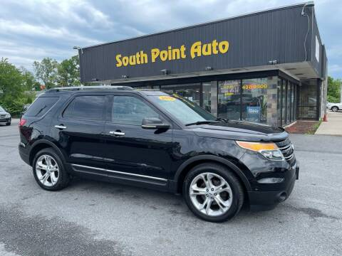 2012 Ford Explorer for sale at South Point Auto Plaza, Inc. in Albany NY