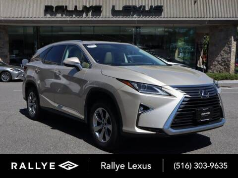 2018 Lexus RX 350L for sale at RALLYE LEXUS in Glen Cove NY