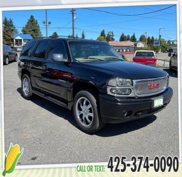 2004 GMC Yukon for sale at Corn Motors in Everett WA