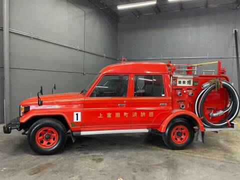 1991 Toyota FJ-FIRETRUCK for sale at EA Motorgroup in Austin TX