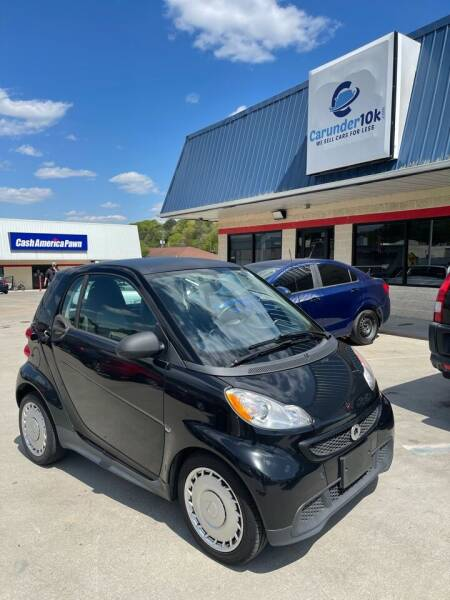 2014 Smart fortwo for sale at CarUnder10k in Dayton TN
