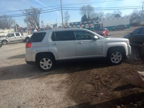 2011 GMC Terrain for sale at Antique Motors in Plymouth IN